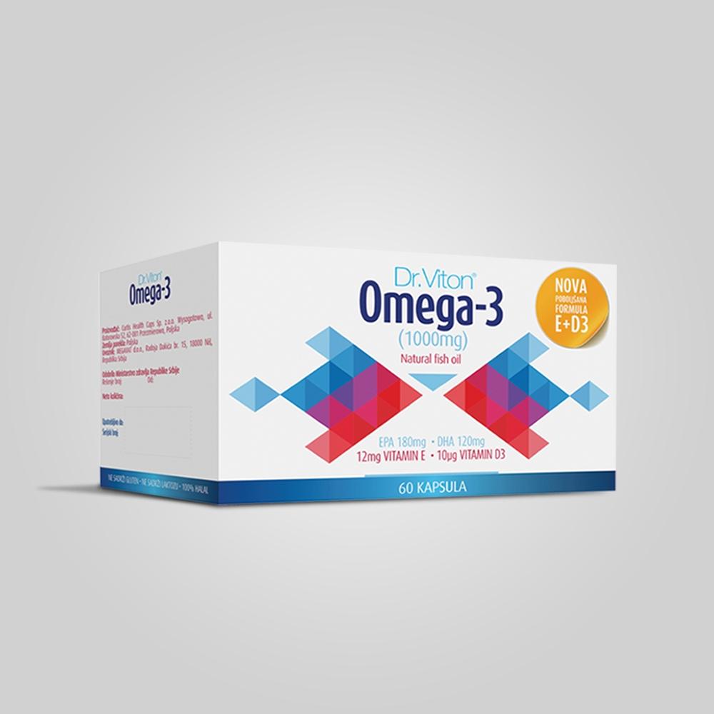 Omega 3 - E+D3