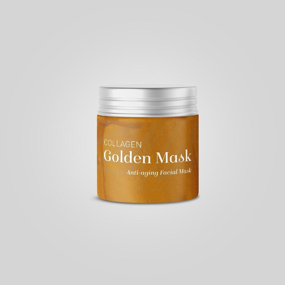 collagen golden mask
